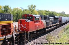 CN 8822 (SD70M-2) (KansasScanner) Tags: shawnee zarah kansas bnsf railroad train