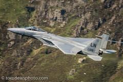 USAF F-15C 84-019 'Wardog' flight. (Tom Dean.) Tags: cadair f15c eagle f15 wales machloop