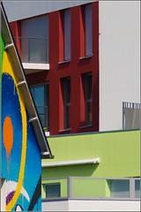 #4/52 - Graffiti (Herv Marchand) Tags: 2016 rennes tag graffiti urbain details fragment colours building immeuble bretagne 52 challenge