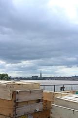 (janeisgone) Tags: bdx bordeaux chartrons march garonne fleuve river saint michel basilique pointe view sunday