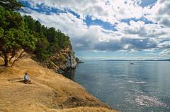 A Fine Day, Stuart Island, San Juan Islands (tacoma290) Tags: life blue vacation sky beauty reflections boats nikon waters strong sanjuanislands rugged contentment harostrait stuartislands orcawatching afinedaystuartislandsanjuanislands