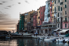 Portovenere di sera (claudio marchini) Tags: sunset sea color evening tramonto mare colore liguria memory portovenere memoria sera laspezia 100commentgroup mygearandme mygearandmepremium