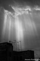 Illuminazione (Antonio Pettinicchio) Tags: roof light sun rain clouds italia nuvole tetto tetti illumination ufo roofs sole pioggia puglia luce ascension taranto illuminazione ascensione abigfave