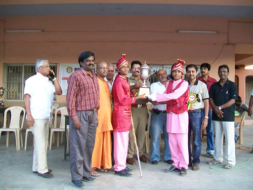 Vidyalaya High School won First Prize in Dist. level Band Music Competition 2012