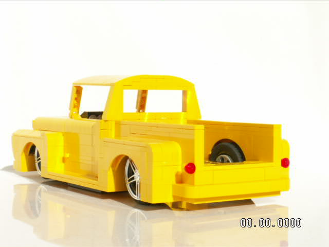 ford 1955 truck lego pickup f100 55