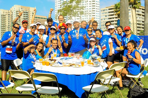VW Runners Conquer Long Beach and Chicago Marathons
