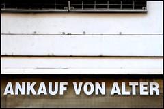 Ankauf von Alter (roetzi24) Tags: schild alter ankauf ftwien ftwien121014 wienwestost