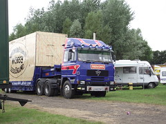 howards (sexyswindler) Tags: fairground trucks funfair lorries