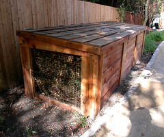 "3-Bin Compost Bin - side • <a style=""font-size:0.8em;"" href=""https://www.flickr.com/photos/87478652@N08/8103552386/"" target=""_blank"">View on Flickr</a>"