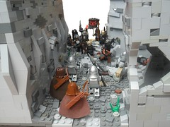 Osgiliath: Approaching The Enemy (G g) Tags: for war lego earth battle lotr soldiers middle tolkien orc middleearth minastirith mordor gondor lordofhterings osgiliath legolordoftherings legoorc legolotr lordoftheringslego legoosgiliath legogondor legomiddleearth legotolkien legogeneralmagma legoithilien battleofosgiliath lastdefenseofminastirith legogondorsoldiers legotolkienlotr