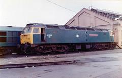 47555 at old oak common (47604) Tags: diesel brush depot britishrail sulzer ooc class47 oldoakcommon 47126 thecommonwealthspirit 47555