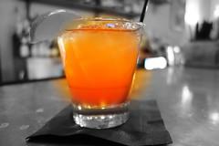 Que Guapo - Tequila, Aperol, Grapefruit, Spice, Cava - Maurepas Foods - New Orleans, LA - Bywater (Paul Broussard NOLA) Tags: neworleans restaurants tequila grapefruit cocktails bywater aperol maurepasfoods sonyrx100 paulbroussard