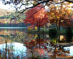 Still waters (cscott_va.) Tags: virginia sherandolake fall2012