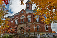 Barry County Courthouse (Northern Light Photography by Robert Byrne) Tags: color fall michigan courthouse hastings hdr 1890s 1892 historicbuilding countycourthouse barrycounty