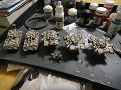 NuCoal Tanks (Steel Paladin) Tags: miniatures fusilier mecha tanks voltigeur miniaturewargaming dreampod9 hovertanks heavygearblitz nucoal