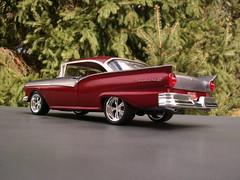 1957 Ford Fairlane 500 (Bogger44) Tags: ford model hobby 1957 pointandshoot kit 500 custom fairlane 125 amt