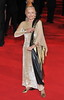 Shirley Eaton Royal World Premiere of Skyfall held at the Royal Albert Hall - London, England