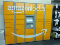 Interesting strategic choice. Amazon locker in...