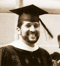 Juan graduating from Harvard Law School
