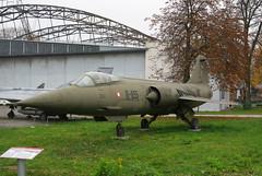 Canadair CF-104 Starfighter CL-90 (Tomasz Rychlik) Tags: poland polska krakw cracow pentaxk10d muzeumlotnictwapolskiego