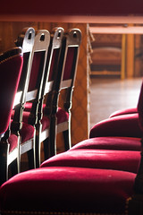 The velvet chairs (Nicolas Chaperon) Tags: red paris france lumix chair opera chairs velvet garnier gf1