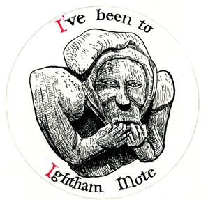 Ightham Mote Badge 2