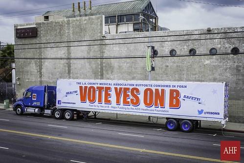 Yes On B Caravan