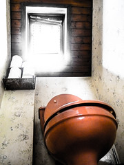 The Throne (.Avallon.) Tags: light window bathroom toilet wc toilets waterclosed