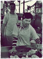 Cheeky Fellow (J2Kfm) Tags: bw photography market streetfood ipoh perak pasirputeh