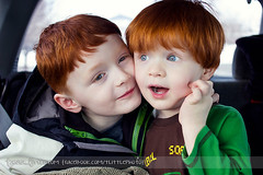 Ryan & Cody (tanya_little) Tags: family silly cute love smile car childhood canon fun togetherness ginger kid waiting child close brothers 28mm january young naturallight redhead indoors together laugh inside van closeness redhair f28 bonding 2013 t2i tanyalittle