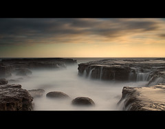 The Haunted Ocean (AnthonyGinmanPhotography) Tags: longexposure misty kiama flo nd110 bwnd110