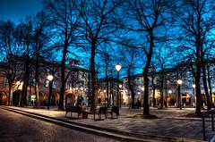 Luci della sera (Simone Burani ) Tags: city italy architecture nikon italia nikkor dslr hdr vr reggioemilia 500px 18105mm d5100 nikonclubit nikond5100