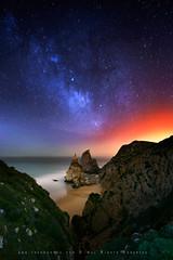 Ursa by night (FredConcha) Tags: night stars cabo nikon le da roca ursa d90 fredconcha