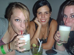 Sippy Sips (The Travelin Chicks) Tags: trip travel family friends party vacation peru southamerica smile bar sisters chelsea lima drinking culture siblings adventure liquor backpacking drinks alcohol blonde mojito booze americans chicas chicks traveling brunette amigas cocktails backpacker travelers bestfriends peruvian traveler kinsey backpackers besties hermanas mixeddrink traveladventure piscosours travelinchucks chelseaosborn kinseyosborn travelinchicks