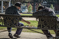 Chess game in the park (Blue Ridge Walker) Tags: alabama mobil