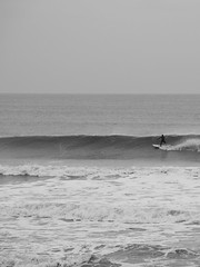 Surf 9 (Tim Bow Photography) Tags: light sea bw seascape water lines weather dark surf waves surfer offshore wave surfing minimal surfboard british welsh swell whitewash porthcawl restbay surfwales timbowphotography blackandwhitesurfphotography surfrestbayporthcawl