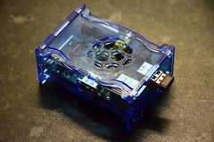 My Pi In Its Raspberry Ripple Case (itchypaws) Tags: b model ripple case pi raspberry wireless nano 2012 edimax
