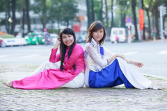 Ti-307 (panerai87) Tags: church vietnam saigon traditionaldress tien aodai