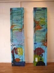 """Last One Out..."" by Glenda Vilisoni (2007) (Fresh Gallery Otara) Tags: niue otara southauckland pacificart freshgalleryotara glendavilisoni"