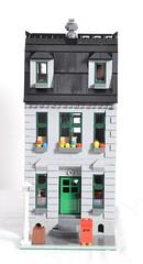 LEGO Grey Standard modular MOC (SunnyNightFever) Tags: grey lego modular standard moc