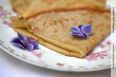 Crpes Suzettes (Scrumptious Venus) Tags: french recipe dessert sweet crepe limoges gda crepesuzette antiquefrenchplate lachandeleur lespritsudmagazine wwwlespritsudmagazinecom gerarddufraisseixmorelabbotlimoges