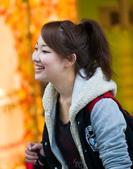 Smiling Girl (aeschylus18917) Tags: danielruyle aeschylus18917 danruyle druyle ダニエルルール ダニエル ルール japan 日本 tokyo 東京 nikon d700 nikond700 woman girl cute smile beautiful kawaii かわいい 美しい utsukushii 105mmf28gvrmicro 105mmf28 nikkor105mmf28gvrmicro 105mm smiling