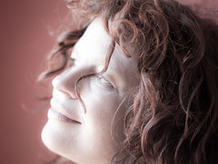 Hanneke, Amsterdam 2012: Curled up II (mdiepraam) Tags: portrait woman girl beautiful dutch amsterdam lady pretty gorgeous redhead mature attractive elegant hanneke 2012 classy fauxvintage fortysomething naturalglamour