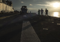 160820-N-YR245-174 (SurfaceWarriors) Tags: boxarg13meu16 ussboxerlhd4 amphibiousreadinessgroup 13thmarineexpeditionaryunit 13thmeu usmarines usnavy cpr1 sunset5k westernpacificocean