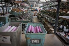 Industrie [02] (Iorraine roux) Tags: industrie velours tissu fil industry velvet fabric wire canon tokina
