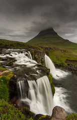 Kirkjufellsfoss (JoshyWindsor) Tags: iceland kirkjufellsfoss longexposure landscape waterfall travel canonef1740mmf4l scenic snfellsnes nature moody canoneos6d europe holiday mountain
