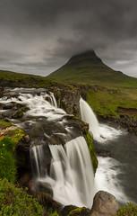 Kirkjufellsfoss (JoshyWindsor) Tags: iceland kirkjufellsfoss longexposure landscape waterfall travel canonef1740mmf4l scenic snæfellsnes nature moody canoneos6d europe holiday mountain