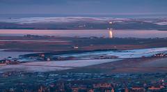 The house of the setting sun (Premysl Fojtu) Tags: orkney scotland uk mainland island isle landscape seascape evening sunset dslr canon eos 50d ef100400 snow dreamscape dreamy northsea reflection