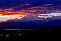 Mount McKinley - Denali  in Alaska (smiles7) Tags: mountmckinley alaska vacation sunset