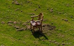 ND5_2199_Lr-edit (Alex-de-Haas) Tags: breda nederland thenetherlands abandoned chair city eenzaam field geduld geduldig gras grass grassfield grassplot grasveld green indesteekgelaten lawn lonely patience patient solitary stad stoel veld verlaten wachten waiting
